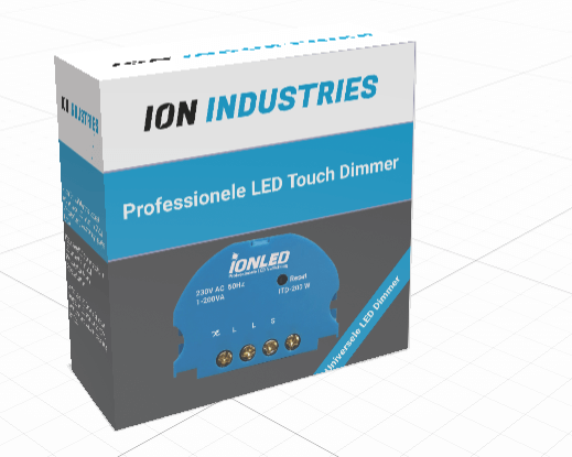 3D ION Touch Dimmer led